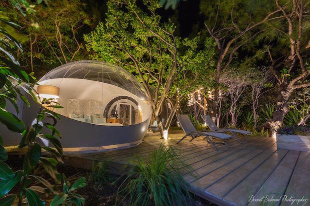 Bubble lodge, Mauritius